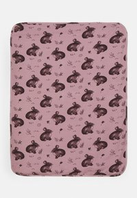 Walkiddy - BLANKETCUTE RABBITS UNISEX - Baby blanket - pink - 1