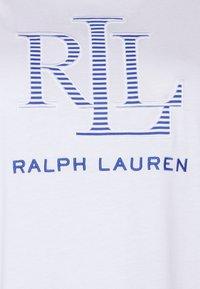 Lauren Ralph Lauren Woman - KATLIN SHORT SLEEVE - T-shirt imprimé - white - 2