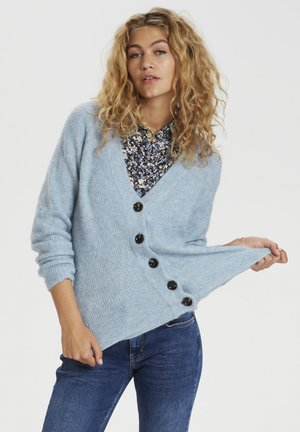 Cardigan - ashley blue melange