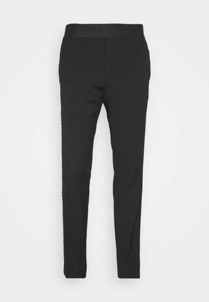 PANTS GRECOSIA - Suit trousers - black