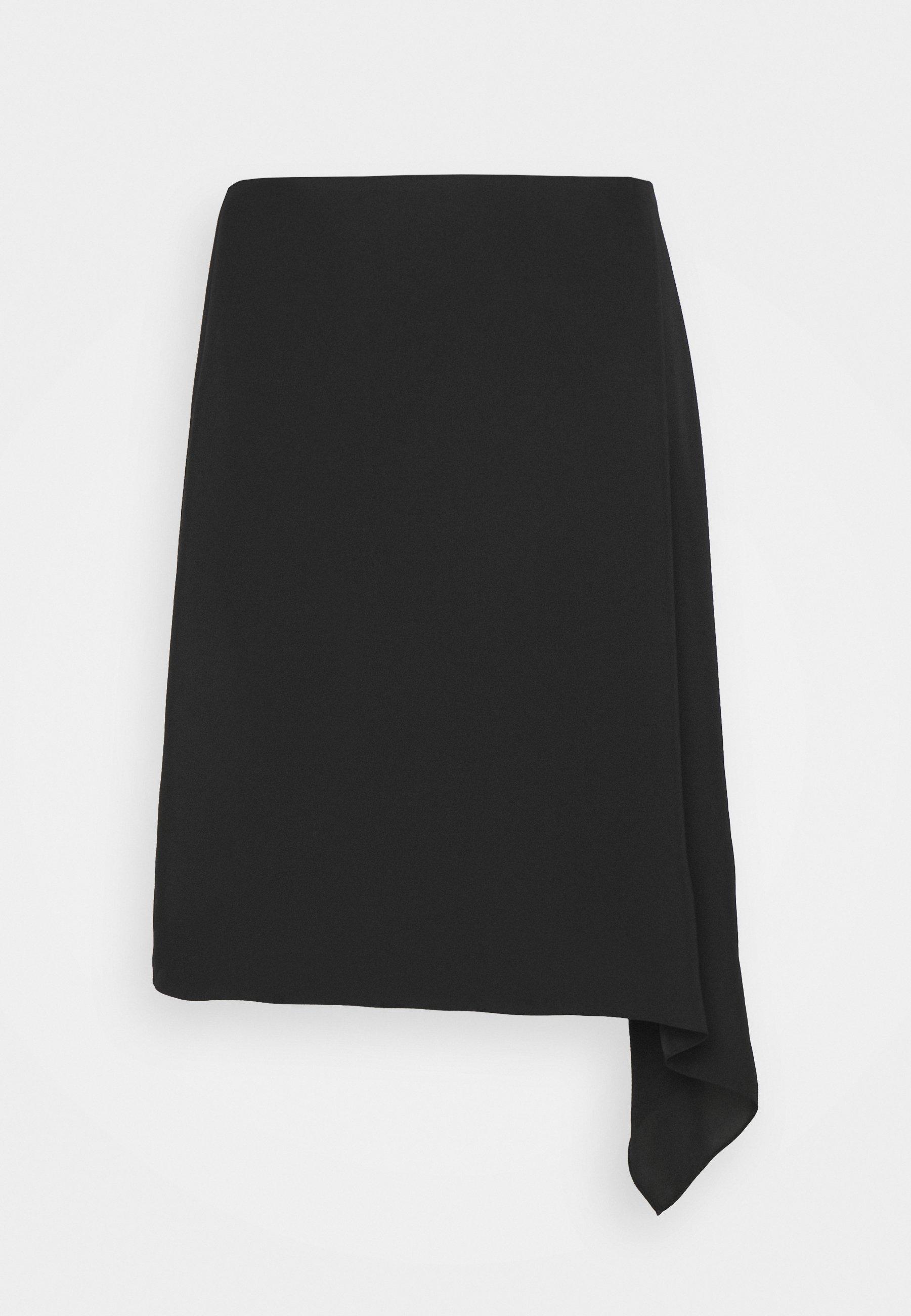 Women DRAPE FLAT TWILL - Mini skirt