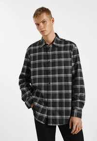 PULL&BEAR - Shirt - black - 0