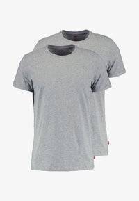 CREW COMFORT FIT 2 PACK - Caraco - middle grey