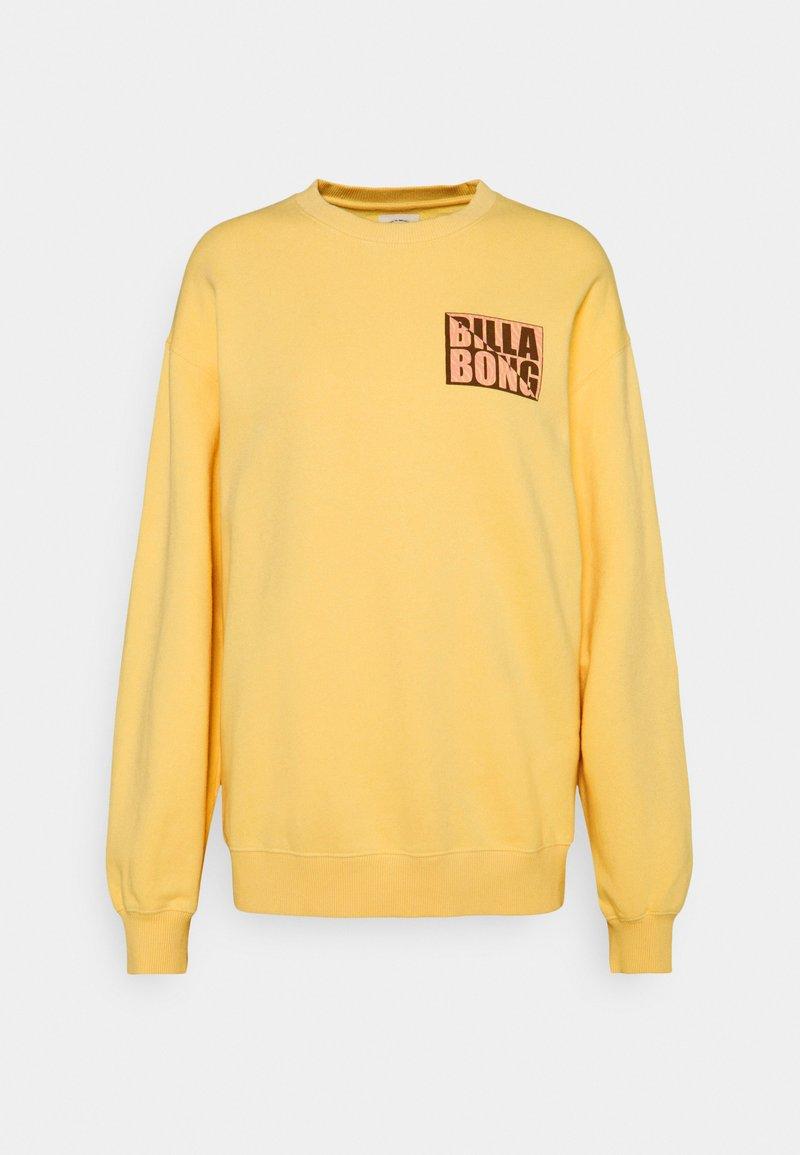 Billabong - TROPIC SHORE - Sweatshirt - pale yellow