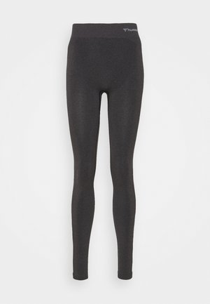 HMLCI  - Leggings - black melange