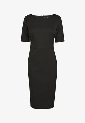 TAILORED - Shift dress - black
