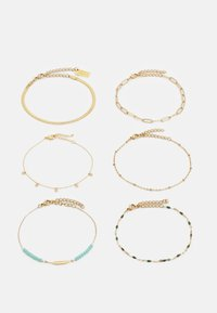 sweet deluxe - 6 PACK - Bracelet - gold-coloured - 0