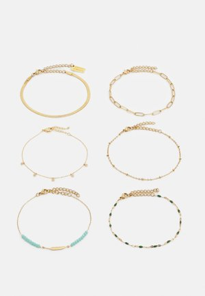 6 PACK - Bracciale - gold-coloured