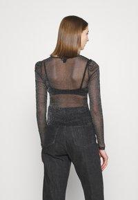 Monki - SILJA - Long sleeved top - black - 2