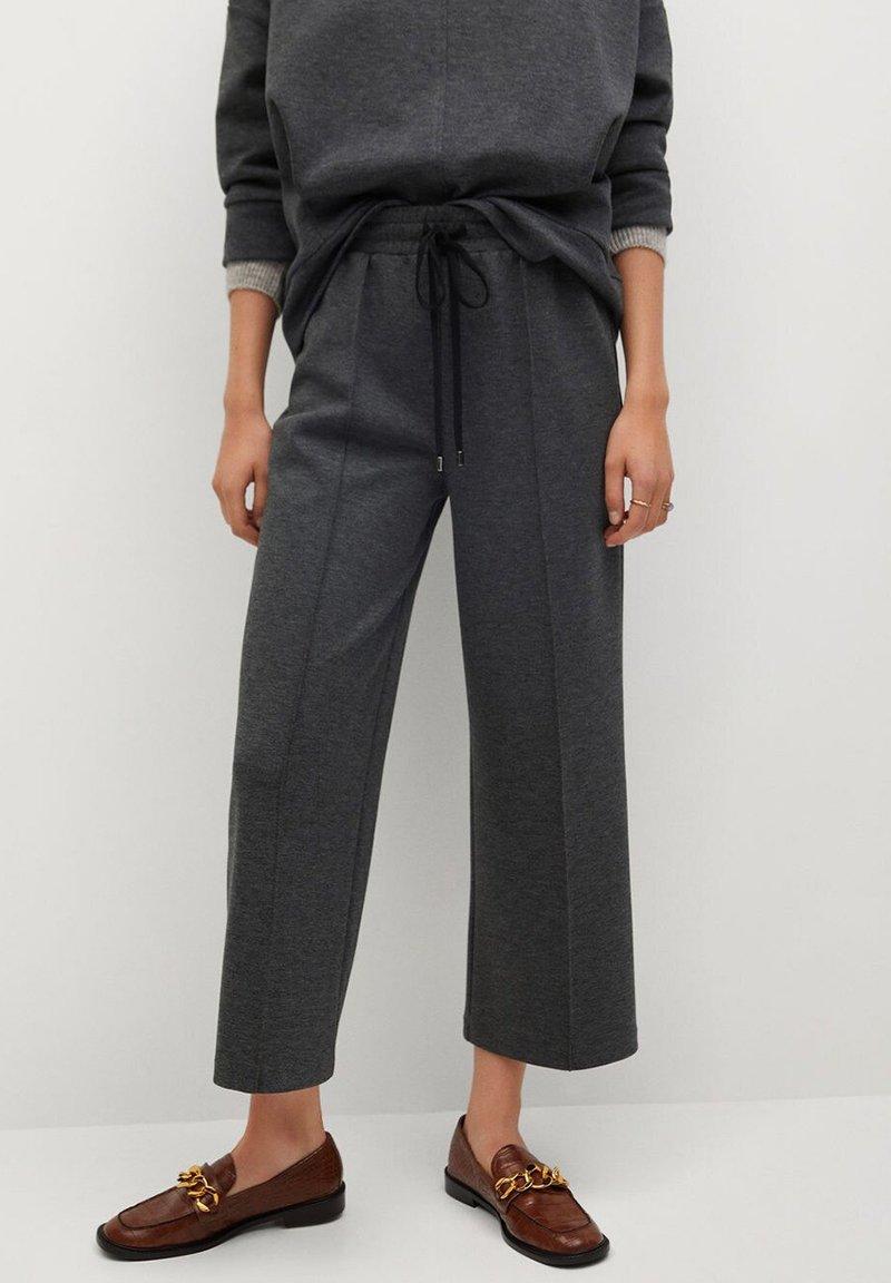 Mango - MIA - Trousers - dunkelgrau meliert