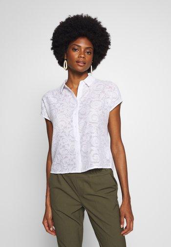 ZLATICA NATURAL - Button-down blouse - white
