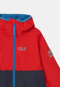 Jack Wolfskin - RAINY DAYS UNISEX - Waterproof jacket - peak red - 2