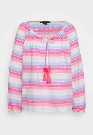 JACK  RAINBOW STRIPE - Blouse - purple/pink/multi