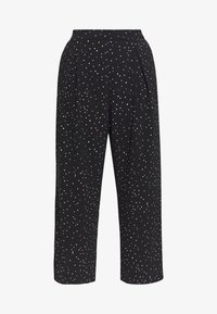 Dorothy Perkins Curve - PALAZZO - Trousers - black - 3