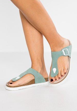 MELLY THONG - Sandály s odděleným palcem - light aqua green