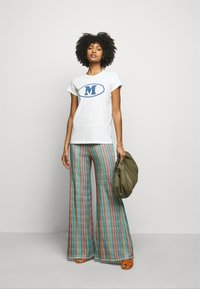 M Missoni - Print T-shirt - white - 1