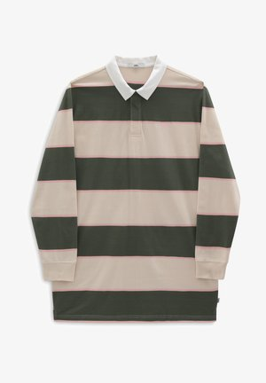 WM RUGBEE POLO DRESS - Jersey dress - thyme