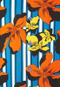 Brave Soul - KAHLO - Shirt - bright blue / jet black / optic white/ multi colour - 2
