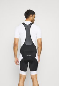 Gore Wear - MAGIX SHORTS MENS - Legging - black/white - 2