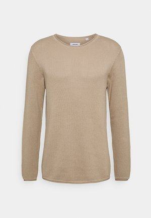 JJROLL CREW NECK - Jumper - crockery