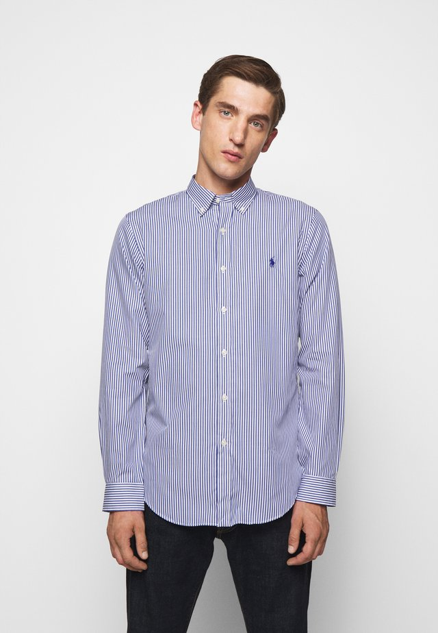 NATURAL - Camicia - navy/white