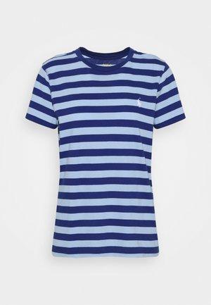 SHORT SLEEVE - T-shirt z nadrukiem - beach royal/austin blue