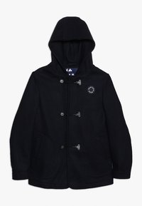 Scotch & Soda - CLASSIC HOODED SINGLE BREASTED CABAN WITH TECHNICAL CLOSURE - Short coat - night - 0