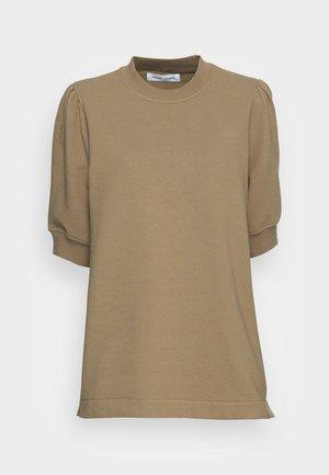 BODIL CREW NECK - T-Shirt basic - covert green