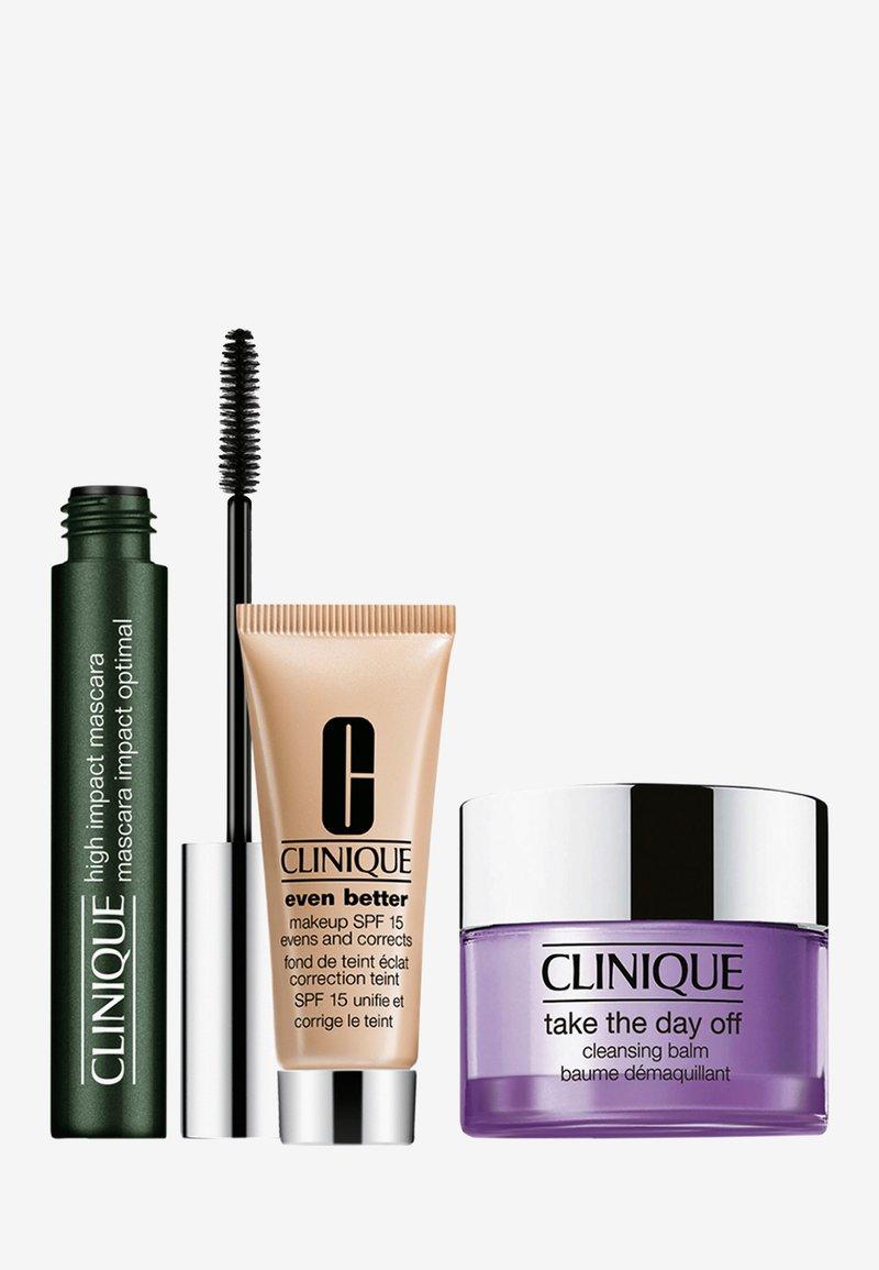 Clinique - HIGH IMPACT MASCARA SET - Makeup set - -