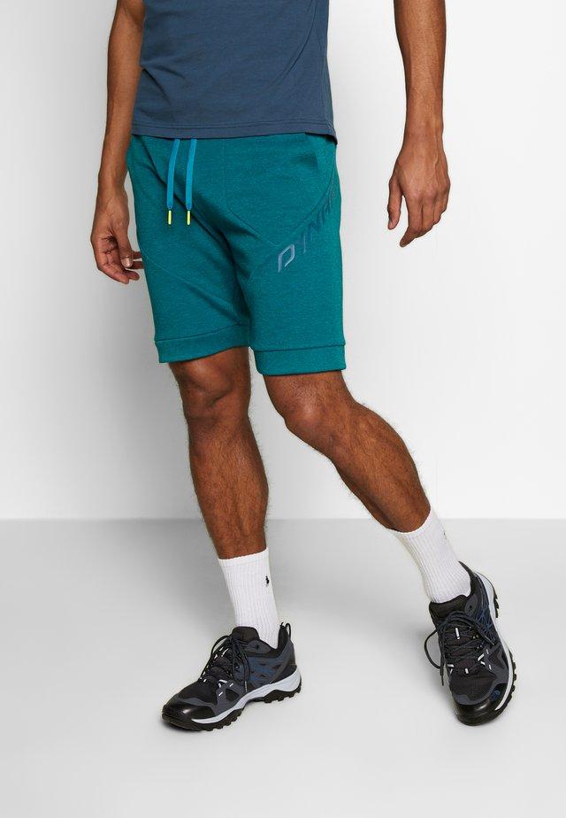 24/7 TRACK - Sports shorts - mykonos blue melange