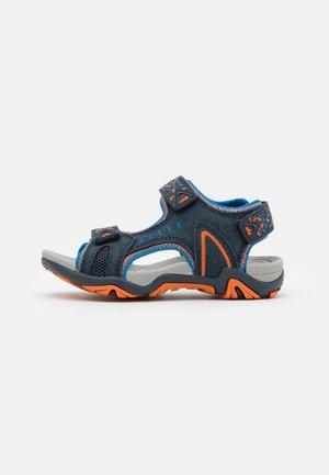 GOMERA  - Chodecké sandály - marine/blau/orange