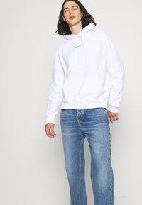 Calvin Klein Jeans - MICRO BRANDING - Huppari - white - 3