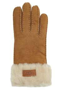 UGG - TURN CUFF GLOVE - Rukavice - chestnut - 1