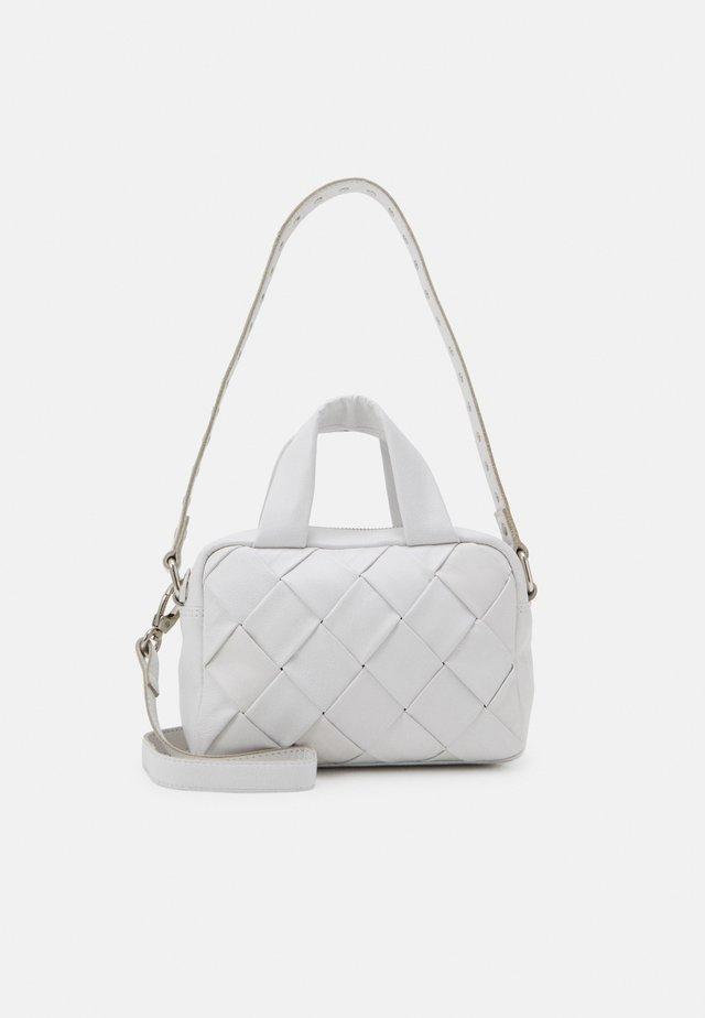 MINI DONNA BRAIDED - Handbag - white