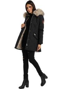 Navahoo - CRISTAL - Winter coat - black - 0
