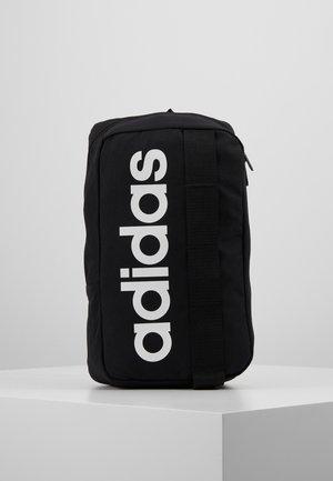 ESSENTIALS LINEAR SPORT CROSS BODY BAG - Across body bag - black/white