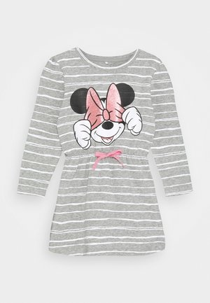 DISNEY MINNIE MOUSE KIRI DRESS - Jerseyjurk - grey melange