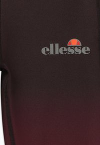 Ellesse - MEDITI PERFORMANCE LEGGING - Legging - black/burgundy - 3