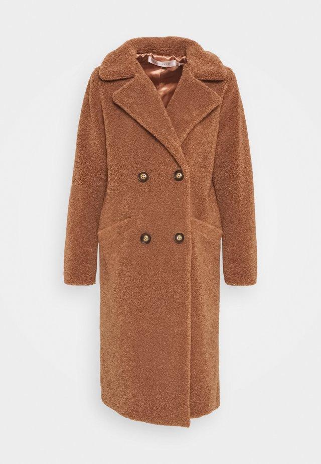 COAT LONG - Cappotto classico - cinnamon