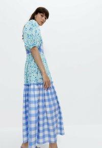 Uterqüe - Day dress - blue - 3