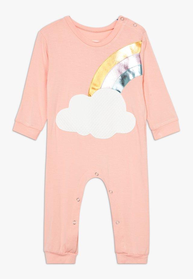 RAINBOW ONESIE - Tuta jumpsuit - light pink