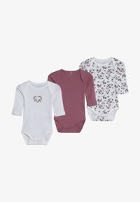 Name it - NBFBODY FLOWER 3 PACK - Body - heather rose - 3
