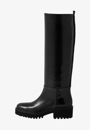 TINY - Stiefel - black