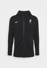 LIVERPOOL FC HOOD  - Klubové oblečení - black/white