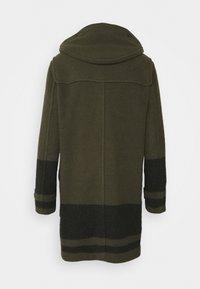Belstaff - BORDER DUFFLE COAT - Classic coat - salvia/black - 1