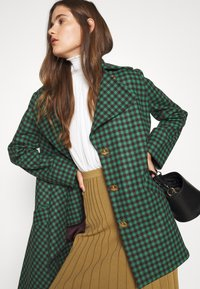 Vivienne Westwood - BLANKET COAT - Light jacket - green/plum - 4