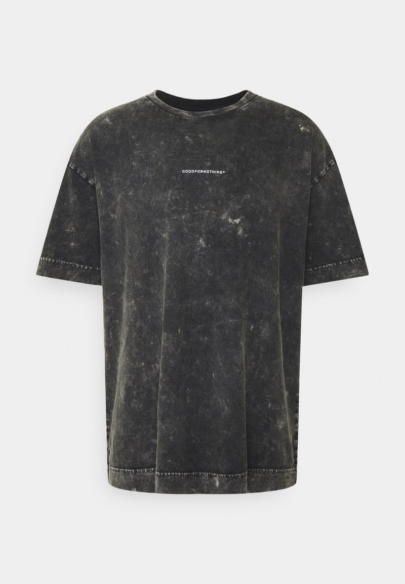 Good For Nothing - OVERSIZED GREY ACID  - T-shirt con stampa - grey