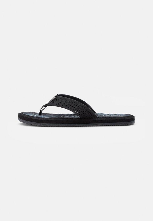 T-bar sandals - anthracite
