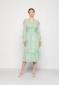 Lace & Beads - REBECCA MIDI - Day dress - mint - 1