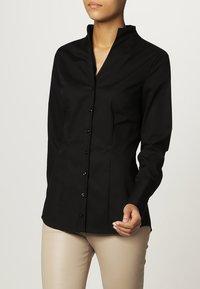 Seidensticker - Button-down blouse - black - 0